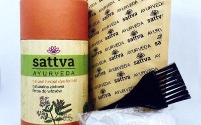 Sattva Ayurveda Henna do włosów Amla 150g