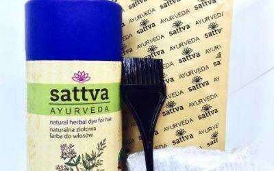 Sattva Ayurveda Henna do włosów Indigo 150g