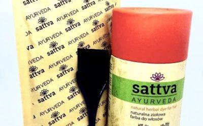 Sattva Ayurveda Henna do włosów Czerwona 150g
