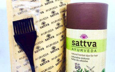Sattva Ayurveda Henna do włosów Orzechowy brąz 150g