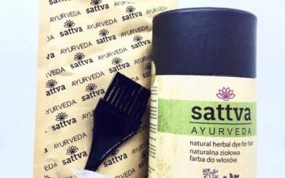 Sattva Ayurveda Henna do włosów Czarny 150g