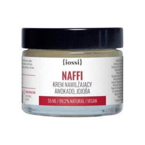 Iossi Krem nawilżający NAFFI Awokado & Jojoba 50ml Naturalne kosmetyki UK Dunia Organic