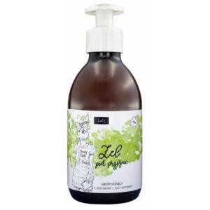 LaQ Żel pod prysznic kiwi i winogrona . Naturalne kosmetyki handmade UK Dunia Organic