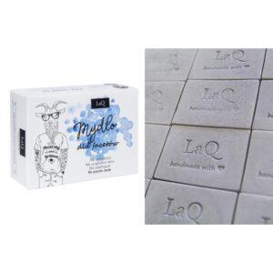 LaQ Mydło dla facetów z węglem aktywnym Naturalne kosmetyki handmade UK Dunia Organic