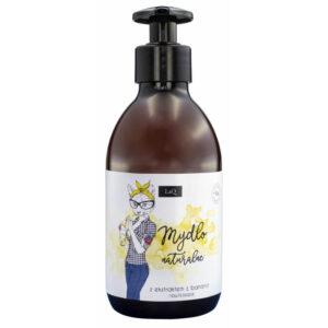 LaQ Mydło do rąk banan. Naturalne kosmetyki handmade UK Dunia Organic
