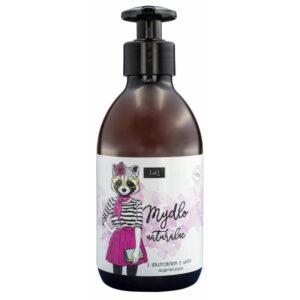LaQ Mydło do rąk -wiśnia. Naturalne kosmetyki handmade UK Dunia Organic