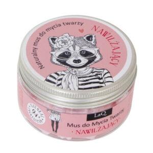 LaQ Nawilżający mus do mycia twarzy. Naturalne kosmetyki handmade UK Dunia Organic