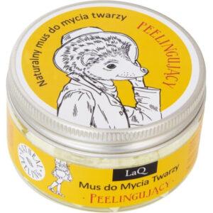 LaQ Peelingujący mus do mycia twarzy. Naturalne kosmetyki handmade UK Dunia Organic