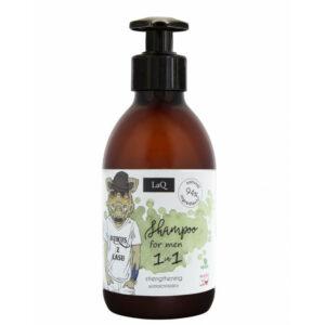 LaQ Szampon do włosów dla facetów. Naturalne kosmetyki handmade UK Dunia Organic