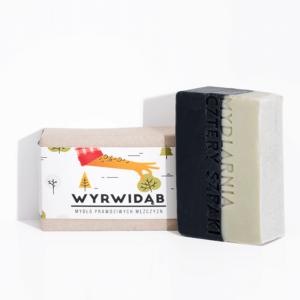 Mydlarnia cztery Szpaki Mydło Wyrwidąb dla mężczyzn Naturalne kosmetyki UK Dunia Organic