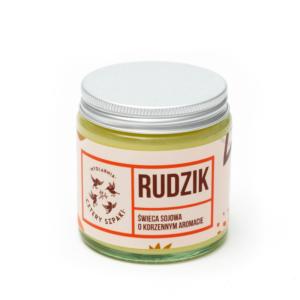 Mydlarnia cztery Szpaki Naturalna Świeca sojowa - korzenna. Naturalne kosmetyki UK Dunia Organic