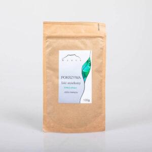 Nanga Pokrzywa liść mielony. Kosmetyki do włosów UK Dunia Organic