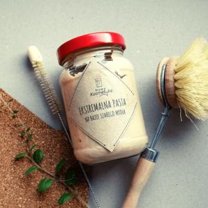 Nowa kosmetyka Ekstremalna pasta czyszcząca. Kosmetyki naturalne i organiczne UK Dunia Organic