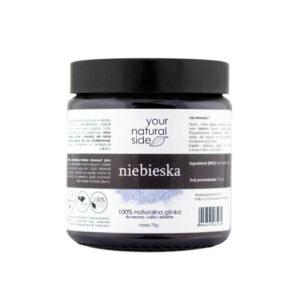 Your Natural Side Glinka niebieska. Kosmetyki naturalne Dunia Organic UK