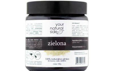 Your Natural Side Zielona glinka 100 g