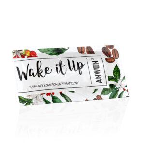 Anwen Szampon enzymatyczny wake it up saszetka. Kosmetyki naturalne do włosów UK. Dunia Organic
