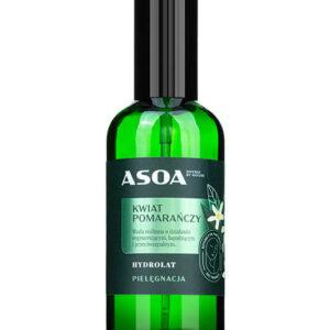 Asoa Hydrolat kwiat pomarańczy. Kosmetyki naturalne i organiczne w UK Dunia Organic.