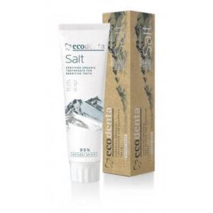 Ecodenta Pasta do zębów Solna. Naturalne kosmetyki do twarzy UK. Dunia Organic