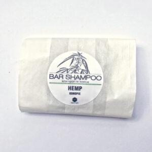 Herbs&Hydro Szampon do włosów w kostce Kokos refill . Naturalne kosmetyki do włosów Dunia ORganic