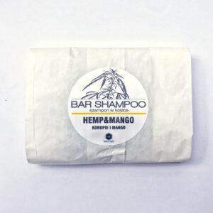 Herbs&Hydro Szampon do włosów w kostce Mango refill Naturalne kosmetyki do włosów Dunia ORganic