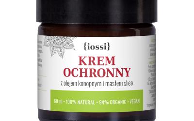 Iossi Krem ochronny do twarzy i rąk z olejem konopnym 60ml