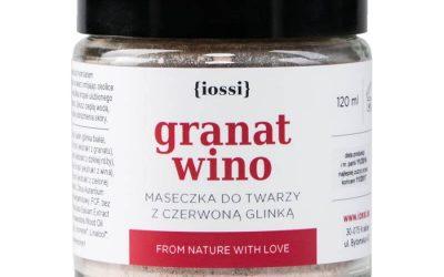 Iossi Maseczka do twarzy Granat i wino 120ml
