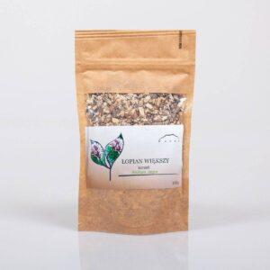 Nanga Łopian korzeń cięty 100g . Kosmetyki do włosów UK Dunia Organic