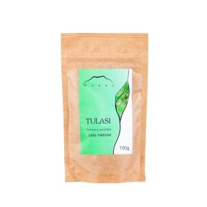Nanga Zioła mielone Tulsi. Naturalne Zioła UK Dunia Organic