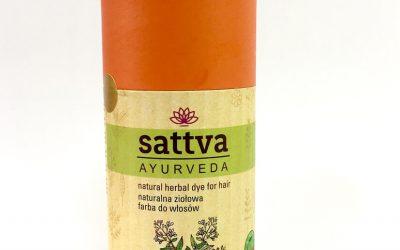 Sattva Ayurveda Henna do włosów Jasny Rudy 150g