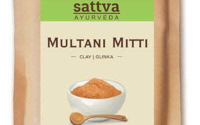 Sattva Ayurveda Glinka Multani Mitti 100g