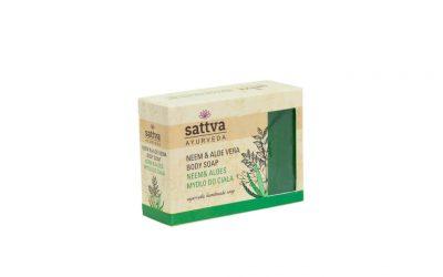 Sattva Ayurveda Mydło glicerynowe Neem&Aloes 125g