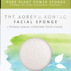 The Konjac Company Gabka konjac biala . Kosmetyki naturalne w UK Dunia Organic (2)
