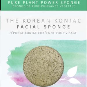 The Konjac Company Gabka konjac premium zielona herbata. Kosmetyki naturalne w UK Dunia Organic