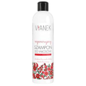 Vianek Regenerujący szampon do ciemnych włosów. Kosmetyki naturalne do włosów UKDunia Organic