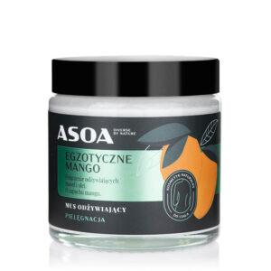 Asoa Masło egzotyczne mang. Kosmetyki naturalne UK Dunia Organic