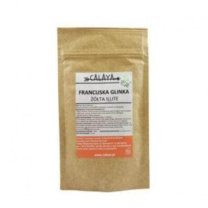 Calaya Glinka żółta. Kosmetyki naturalne uk Dunia Organic.
