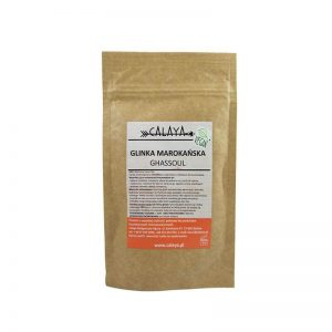 Calaya Glinka Maroccan Lava Clay. Kosmetyki naturalne uk Dunia Organic.