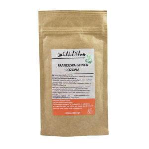 Calaya Glinka różowa. Kosmetyki naturalne uk Dunia Organic.