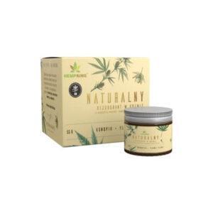 Hemp King Naturalny dezodorant konopny z CBD o zapachu wanilii i kwiatów Ylang Ylang. Polskie kosmetyki UK Dunia