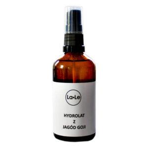 La-Le Hydrolat z jagód goji. Kosmetyki naturalne i organiczne UK Dunia Organic