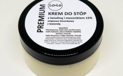 La-Le Krem do stóp z mocznikiem i lanoliną 100ml