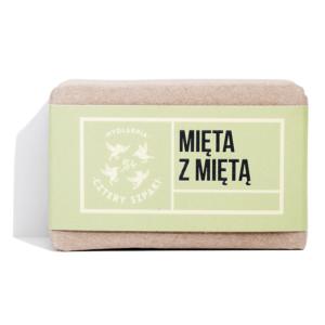 Mydlarnia cztery Szpaki Mydło Mięta za Mięta. Naturalne kosmetyki UK Dunia Organic