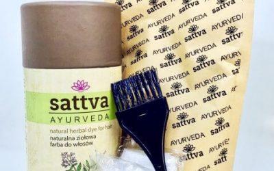 Sattva Ayurveda Henna do włosów Jasny brąz 150g