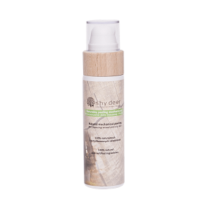 Shy Deer Naturalny peeling mechaniczny 100ml Kosmetyki naturalne uk
