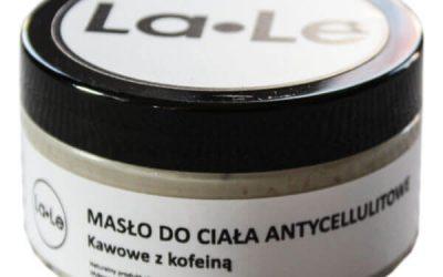 La-Le Masło do ciała antycellulitowe Kawowe z kofeiną 100ml