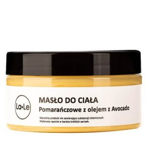 la-le Masło do ciała pomarańczowe z olejem awokado. La-le Dunia UK