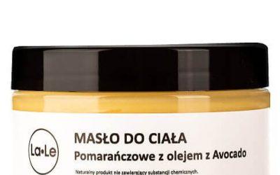 La-Le Masło do ciała pomarańczowe z olejem awokado 100ml