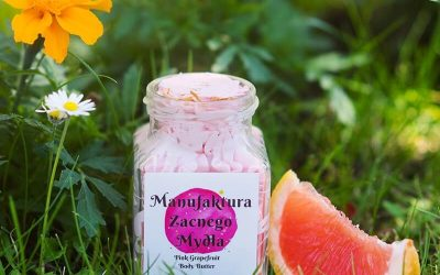 Manufaktura Zacnego Mydła Masło do ciała Grejpfrut 200 ml