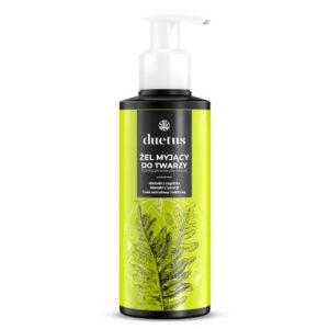 Duetus Żel myjący do twarzy.. Kosmetyki naturalne UK Dunia Organic