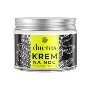 Duetus Krem do twarzy na noc. Kosmetyki naturalne UK Dunia Organic